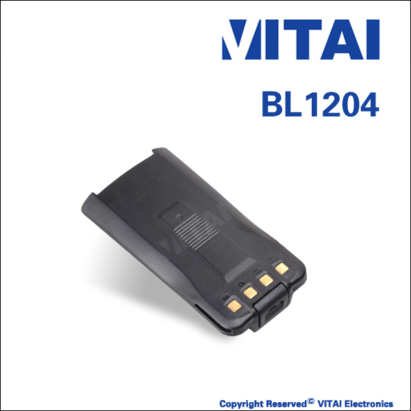 VITAI VT-BL1204 7.4V Rechargeable High-efficiency FM Transceiver Battery