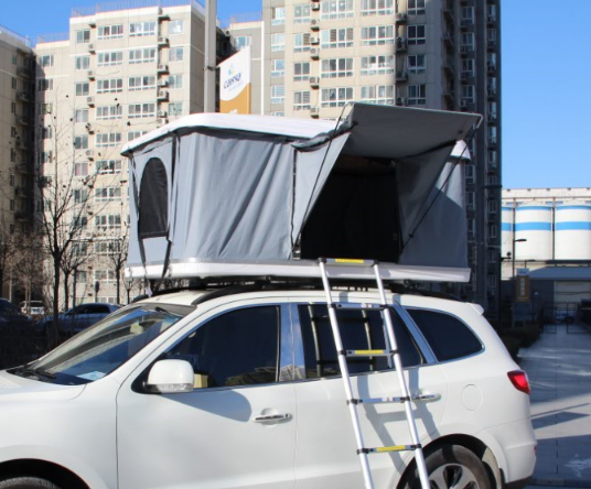 4WD hydraulic device automatically roof top tent