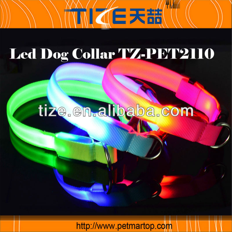 The Royal series high end dog accessories PET2110 Cat Flashing LED collar