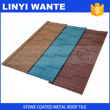 Customized Wante China CE class direct wholesale terracotta colorful sand coated metal roof sheet online