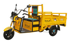 Cargo Loader Electric Tricycle For Sale / Family Use Battery Driving Rickshaw