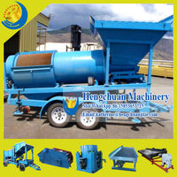 High Quality Gold Cyanide Leaching Process/Gold Mining Machine