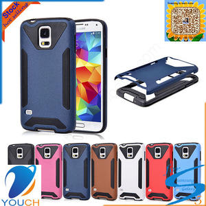 2 in 1 corselet hard cell phone case for SAMSUNG galaxy s5