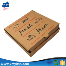 Custom paper packing price pizza boxes wholesale