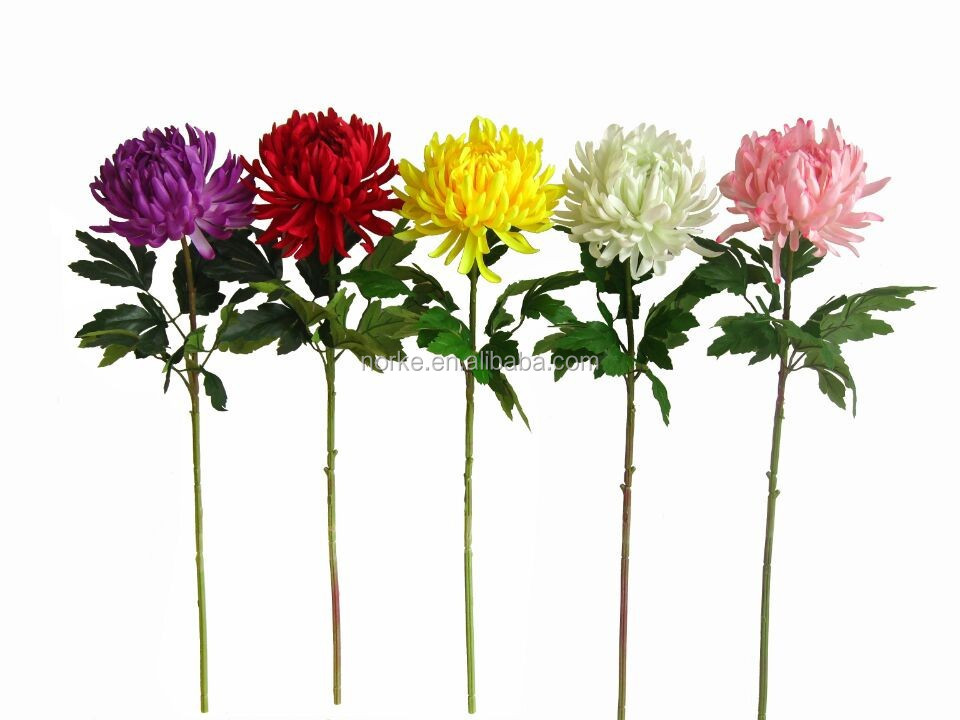 artificial flowers making for home decoration NKS10214