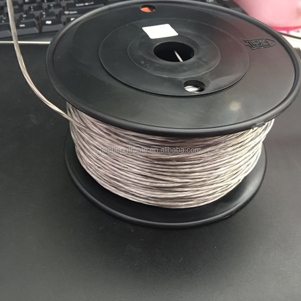 ts f02 plastic cpated wire the middle size high quality steel wire