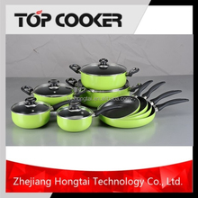 Aluminium Pressed Non-Stick Coating Swiss Kitchenware and Cookware