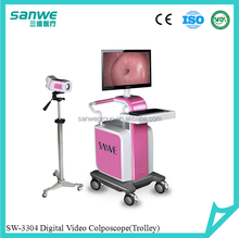 SW-3304 Digital Optical Colposcope with Two Monitors / Digital Video Colposcope /Vaginal Colposcope