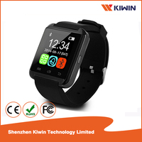 Bluetooth smart watch touch screen with pedometer clock alarm anti lost u8 smart watch