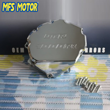 Freeshipping motorcycle parts Left side Billet Engine Stator cover For Honda CBR1000RR 2008 2009 2010 2011 2012 2013 Chrome