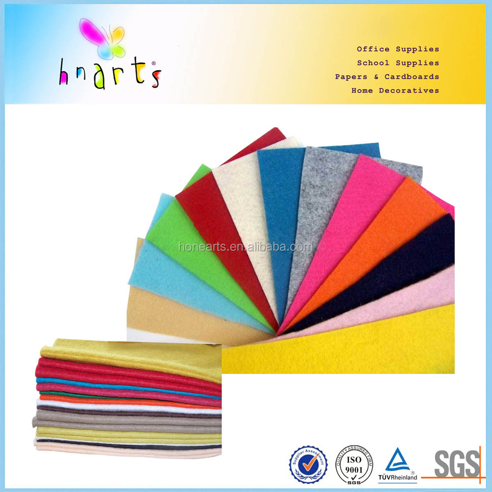 patterned polyester felt 2mm thinckness
