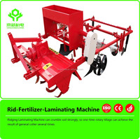 Plastic Layer agricultural machine /ridging mulch layer/corn tiller cultivator