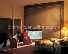 Bintronic Home Decoration Curtain Design Automatic Honeycomb Blind Rails