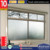 ALUFRONT high quality aluminum sliding window with double glazing