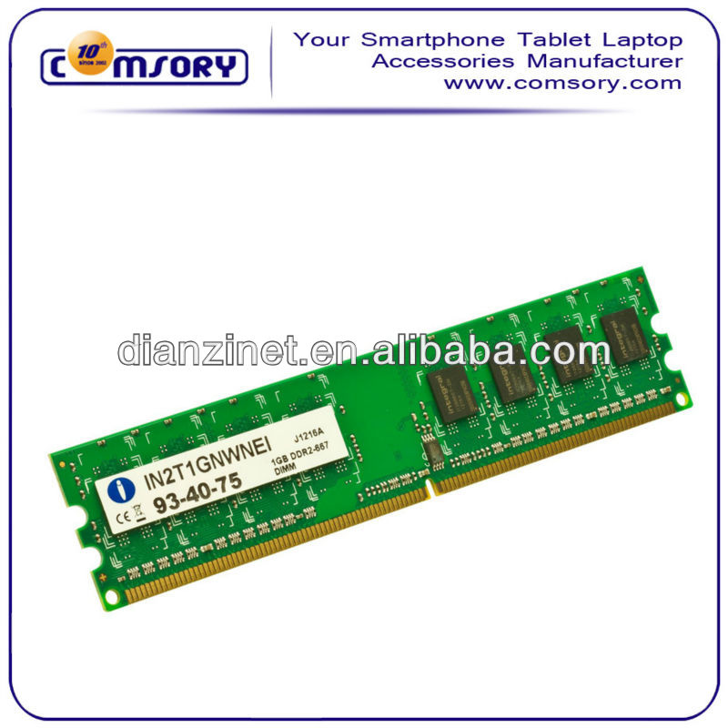 2GB (2x1GB) DDR2 PC2-5300 667MHz Laptop (SODIMM) Memory RAM KIT 200-pin