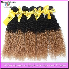 Tight And Neat blowout weave hair extension brazilian curly blonde hair
