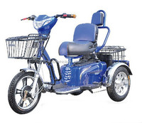 Comfortable Three Wheel Electric Tricycle for Elder and Disabled