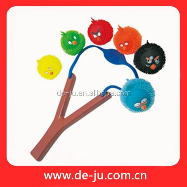 Kids Rubber Toy Sundry Shape Bird Toy