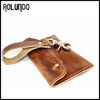 Genuine Leather Brown Men Wholesale Cell Phone Case