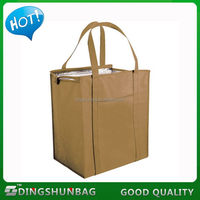 Low price promotional top selling flower printed cooler bag