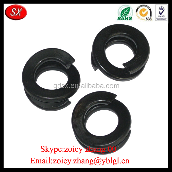 High Precisioon Blackening Aluminum Double Spring Washer
