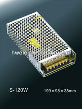 12V 15V 24V 27V 36V 48V 120W LED power supply