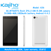 wholesale price of 5 inch 3g mtk6572 android smart mobile phone factory