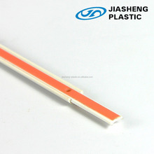 Extruded ABS plastic Optical fiber channel/tail fiber/ABS D type plastic wire channel