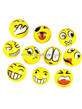 Dazzling Toys Popular Fun Emoji Face Squeeze Balls Stress Relax toy balls children gift