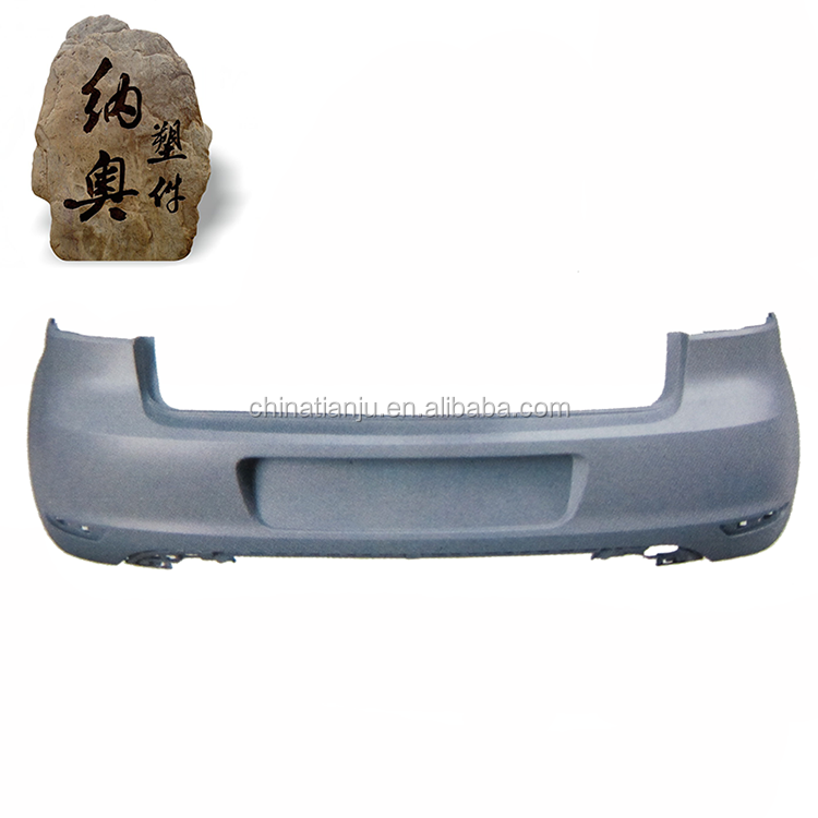 Low price high quality rear bumper lip for golf vi