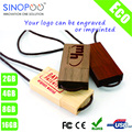 Promotional Wood USB Flash Drive Wooden USB Stick