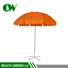 Wind resistant portable custom printing big shade standard size garden umbrella hawaii parasol fabric beach sun umbrella