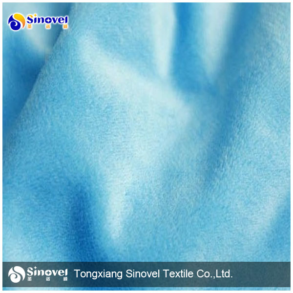 100% Polyester EF Velboa Fabric, Faux Fur Fabric