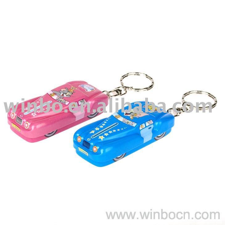 Car Shape Kids Key Chain