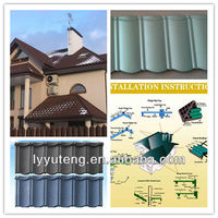 Easy install tile roof popular in Nigeria