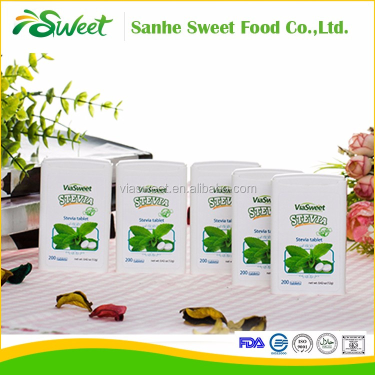 Wholesale stevia tablets in dispenser /stevia erythritol sugar sweetener for diabetics