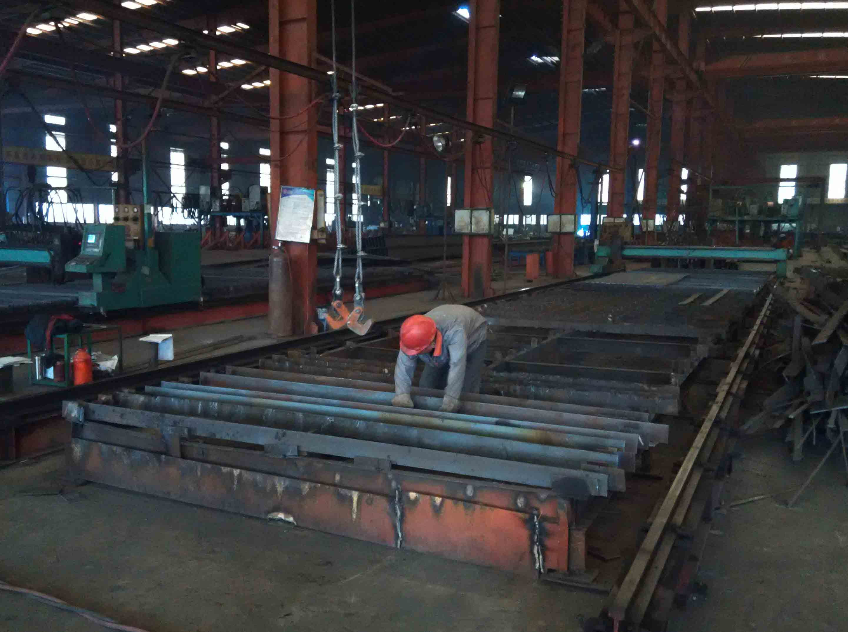 Cutting-H Section Steel