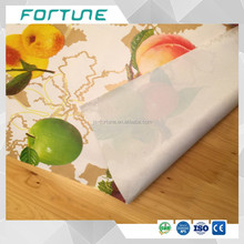 pvc printed film plastic printing sheet used for tablecloth rain coat packing bags