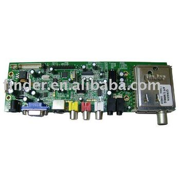 LCD TV / Monitor Control Board support 15-19 inch LCD panel