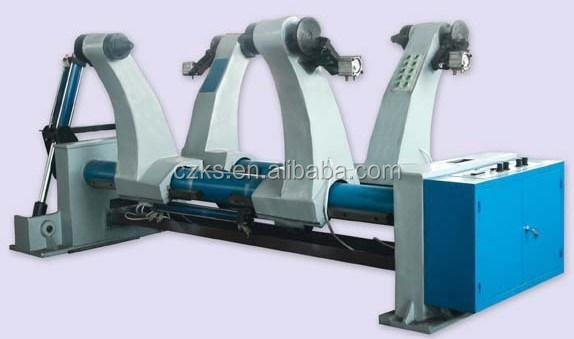 Paper Box Making Machinery /Hydraulic Shaftless Mill Roll Stand For Corrugated