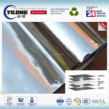 heat reflective wall insulation aluminum foil woven fabric roof sheet