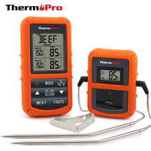 ThermoPro TP20 Wireless Remote Digital Cooking Food Meat Thermometer with Dual Probe for Smoker Grill BBQ Thermoometer and Timer