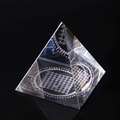Classic custom 3d laser engraving Egyptian crystal pyramid
