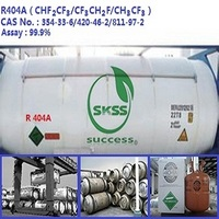 high quality refrigerant gas r404a for home appliance air condition msds&hfc green gas air condition R404 of HUAFU