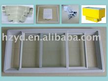 chest freezer frame with glass door