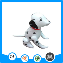 PVC inflatable christmas decoration dog, cute inflatable dog toy