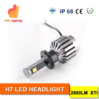 Hot selling in US market 12v super bright led headlight bulb h7 led bulb 30w fog light auto lamp automotive headlight