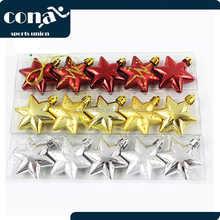 2017 Hot Sale Christmas Tree MIni Plastic Star Christmas Tree Decoration