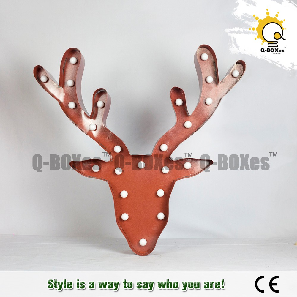 hot sales 3d Mold production iron battery Christmas letters and symbols