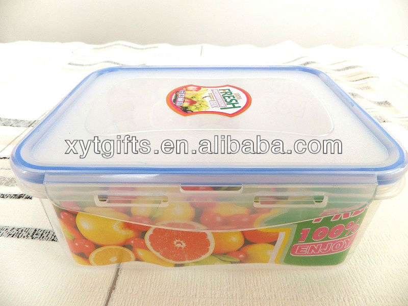 Wholesale price Airtight Fresh Plastic Food Container for Storage